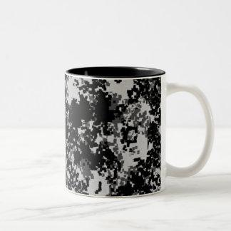 Digital Camo Two-Tone Coffee Mug