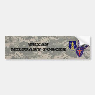 digital camo - TXSG -TX military forces Car Bumper Sticker