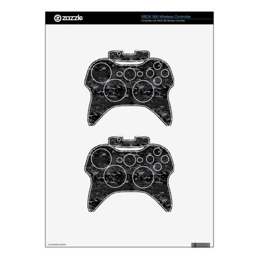 Digital Camo Xbox 360 Controller Decal