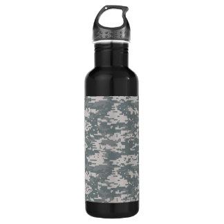 Digital Camouflage Bottle 24oz Water Bottle