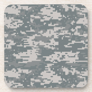 Digital Camouflage Cork Coaster