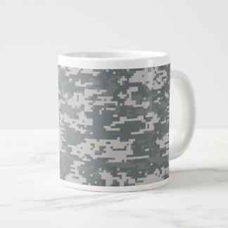 Digital Camouflage Mug 20 Oz Large Ceramic Coffee Mug