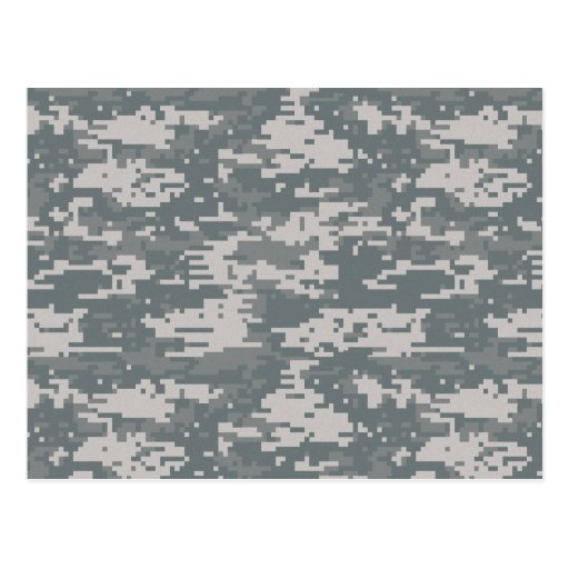 Digital Camouflage Postcard