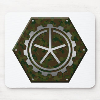 Digital Camouflage, Traditional Camo Mouse Pad