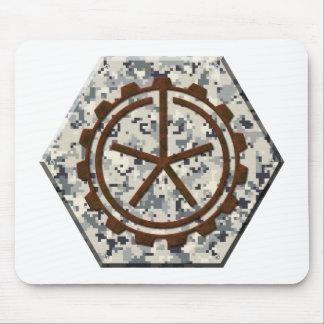 Digital Camouflage, Urban Camo (Dark Logo) Mouse Pad