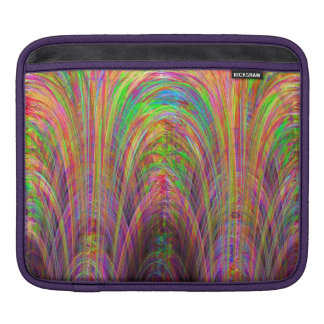 Digital Cathedral Fractal Art iPad Sleeves