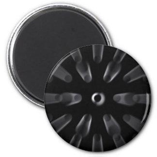 Digital Chain 2 Inch Round Magnet