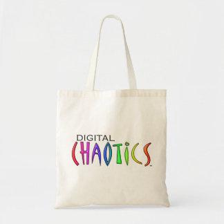 Digital Chaotics Tote Bag