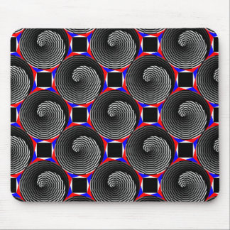 Digital Checker Yin Yang Mouse Pad