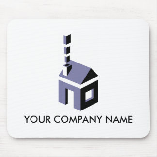 Digital Chimney Customizable Mousepad