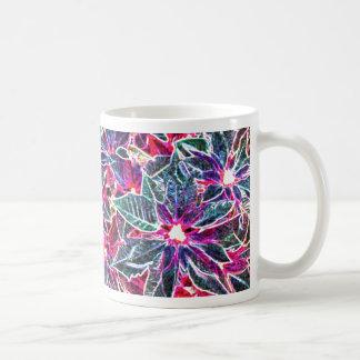 Digital Christmas rose sulks Coffee Mugs