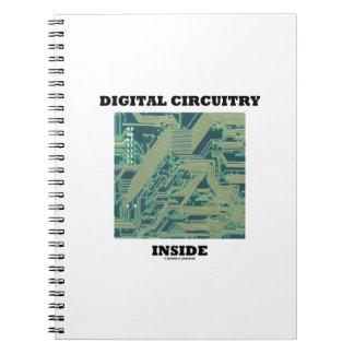 Digital Circuitry Inside (Circuit Board) Note Book