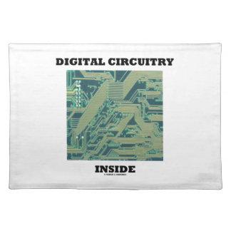 Digital Circuitry Inside (Circuit Board) Placemat