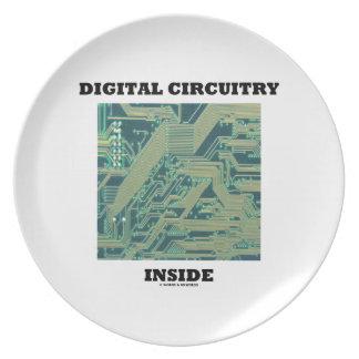 Digital Circuitry Inside (Circuit Board) Plates
