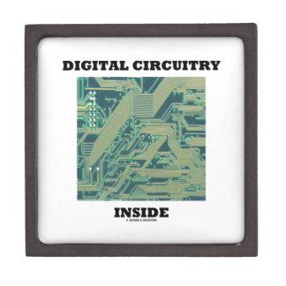 Digital Circuitry Inside (Circuit Board) Premium Jewelry Boxes