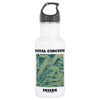 Digital Circuitry Inside (Circuit Board) Stainless Steel Water Bottle