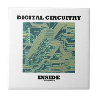 Digital Circuitry Inside (Circuit Board) Tile