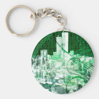 Digital City Keychains