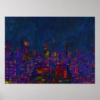 Digital City Poster