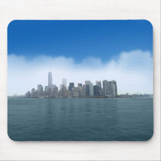 Digital Clear Sky in NYC Mouse Pad