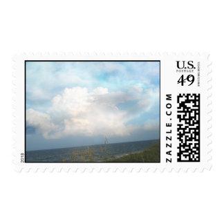 Digital Clouds Stamp