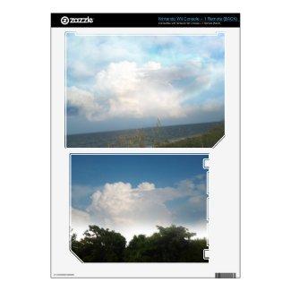 Digital Clouds Wii Skin