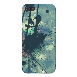 Digital collage abstract grunge style design case for iPhone SE/5/5s