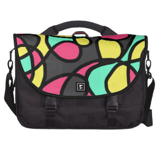 Digital Collage Laptop Bags