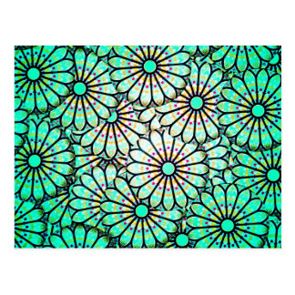 Digital Colours Art Beautiful Design Style Fashion Post Cards