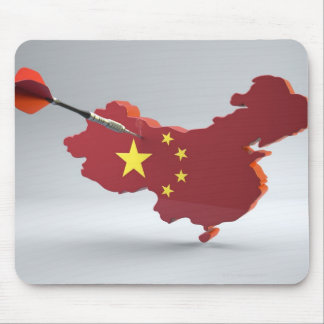 Digital Composite of China Mouse Pad