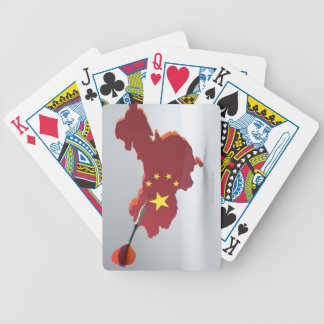 Digital Composite of China Bicycle Card Deck