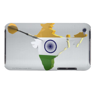 Digital Composite of India Barely There iPod Cover