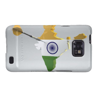 Digital Composite of India Galaxy S2 Case