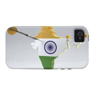 Digital Composite of India Vibe iPhone 4 Cases