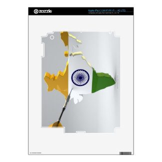 Digital Composite of India Decal For iPad 3