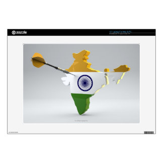 Digital Composite of India Decals For Laptops