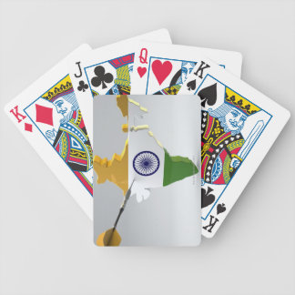 Digital Composite of India Poker Cards
