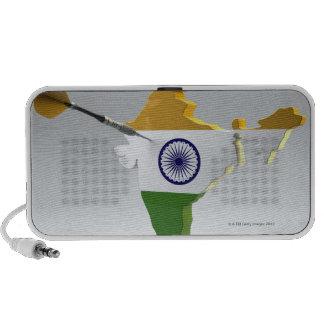Digital Composite of India Mp3 Speakers