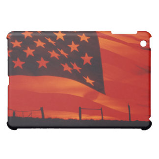 Digital composite of the American Flag iPad Mini Case