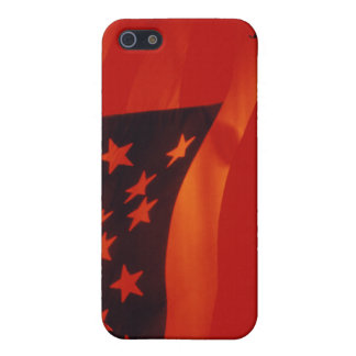 Digital composite of the American Flag Cover For iPhone 5/5S