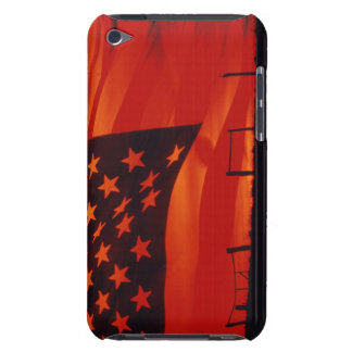 Digital composite of the American Flag iPod Touch Case