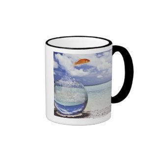 Digital composition ringer coffee mug