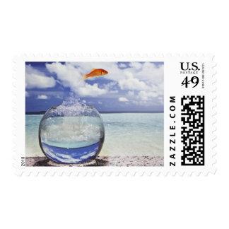 Digital composition stamps