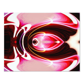 Digital Computer Modern Abstract Art Card