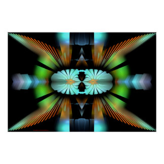 Digital Contemporary Art Best Viewed Lg View Notes Poster