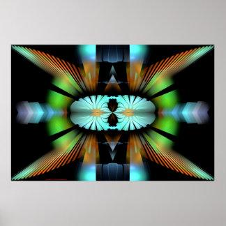Digital Contemporary Art Best Viewed Lg View Notes Print