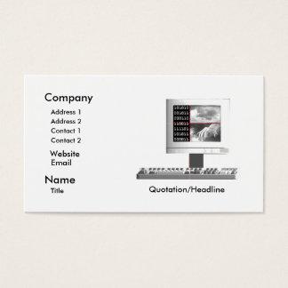 Digital Creation - Business Size Business Card
