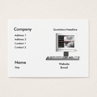 Digital Creation - Chubby Business Card