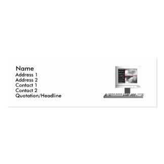 Digital Creation - Skinny Size Mini Business Card