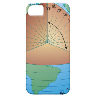 Digital cross section illustration of showing iPhone SE/5/5s case